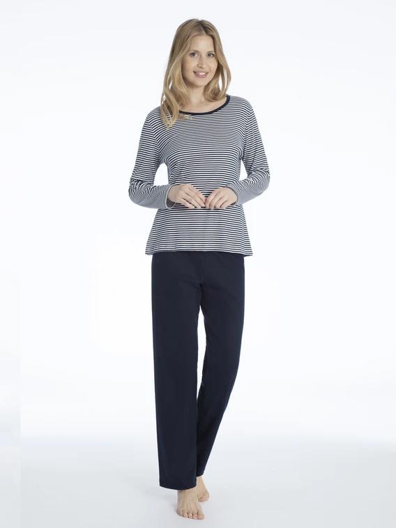 Женская трикотажная пижама (кофта, брюки) 14951 Mey