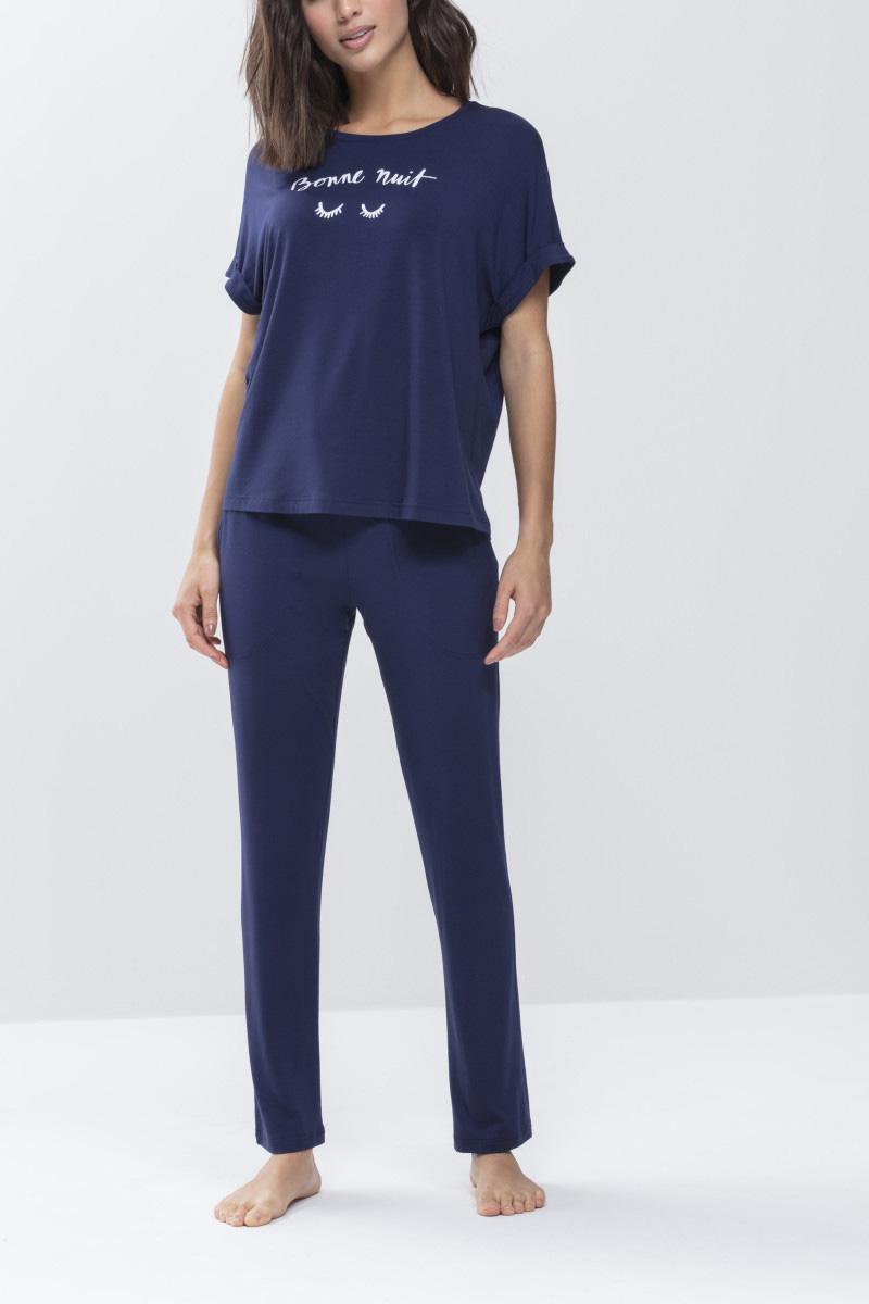 Женские брюки 16001 синий Mey