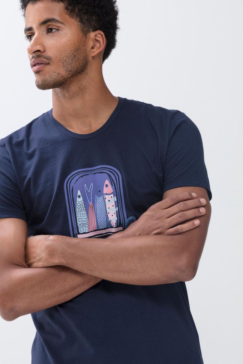 Мужская трикотажная футболка 30013 Mey