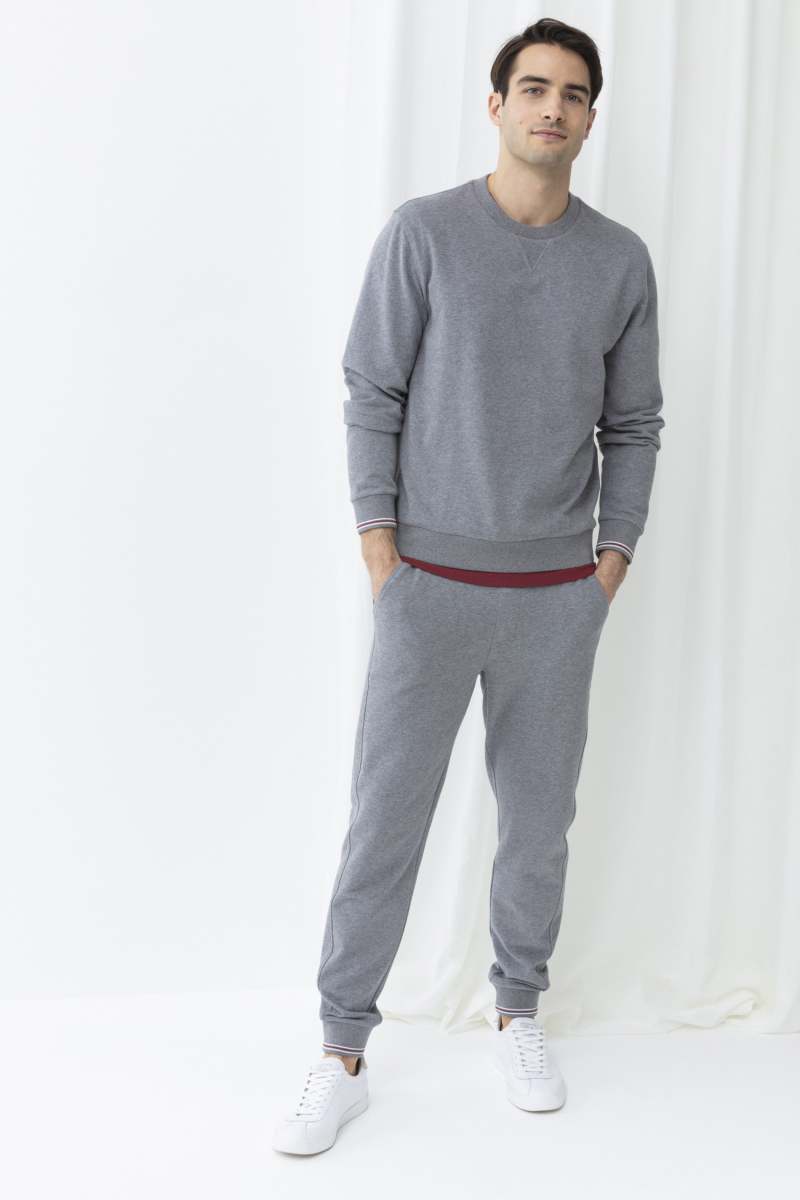Мужские брюки 31048 серый Mey
