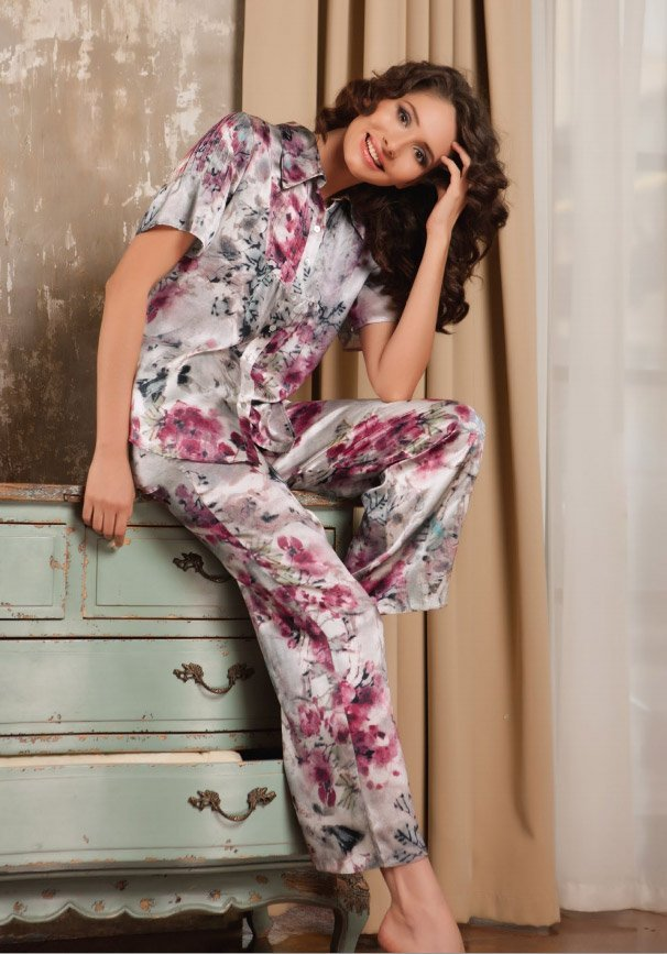 011510 Alice - пижама (жакет+брюки) Oryades