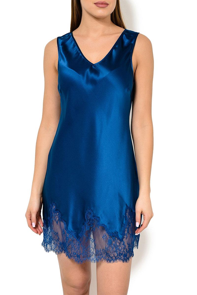 Женская сорочка без рукавов 05AS1811 синий Jacqueline Oryades