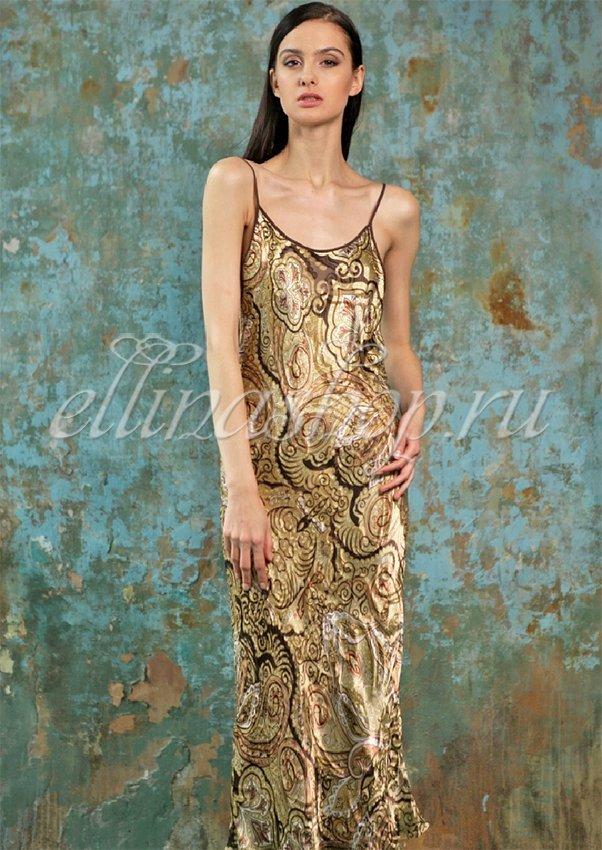 Шелковая длинная сорочка Martine 1391310 Oryades