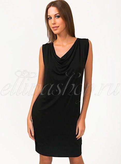 318714E Классика Платье черное Orydes