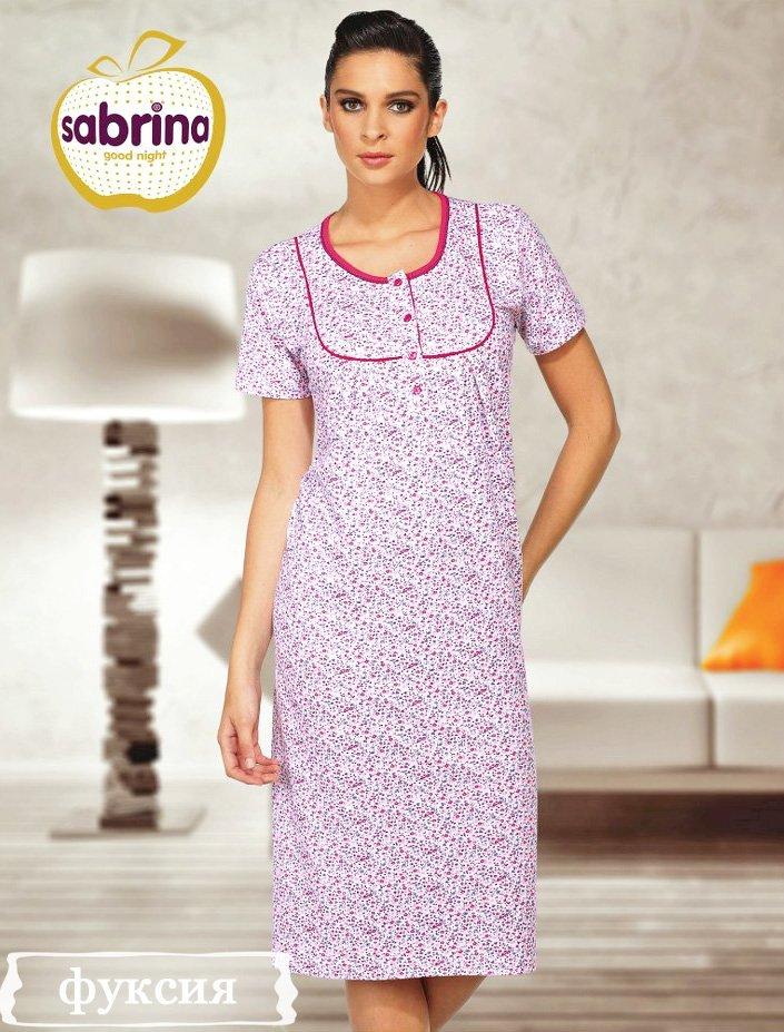 12572 Рубашка ночная средней длины Sabrina