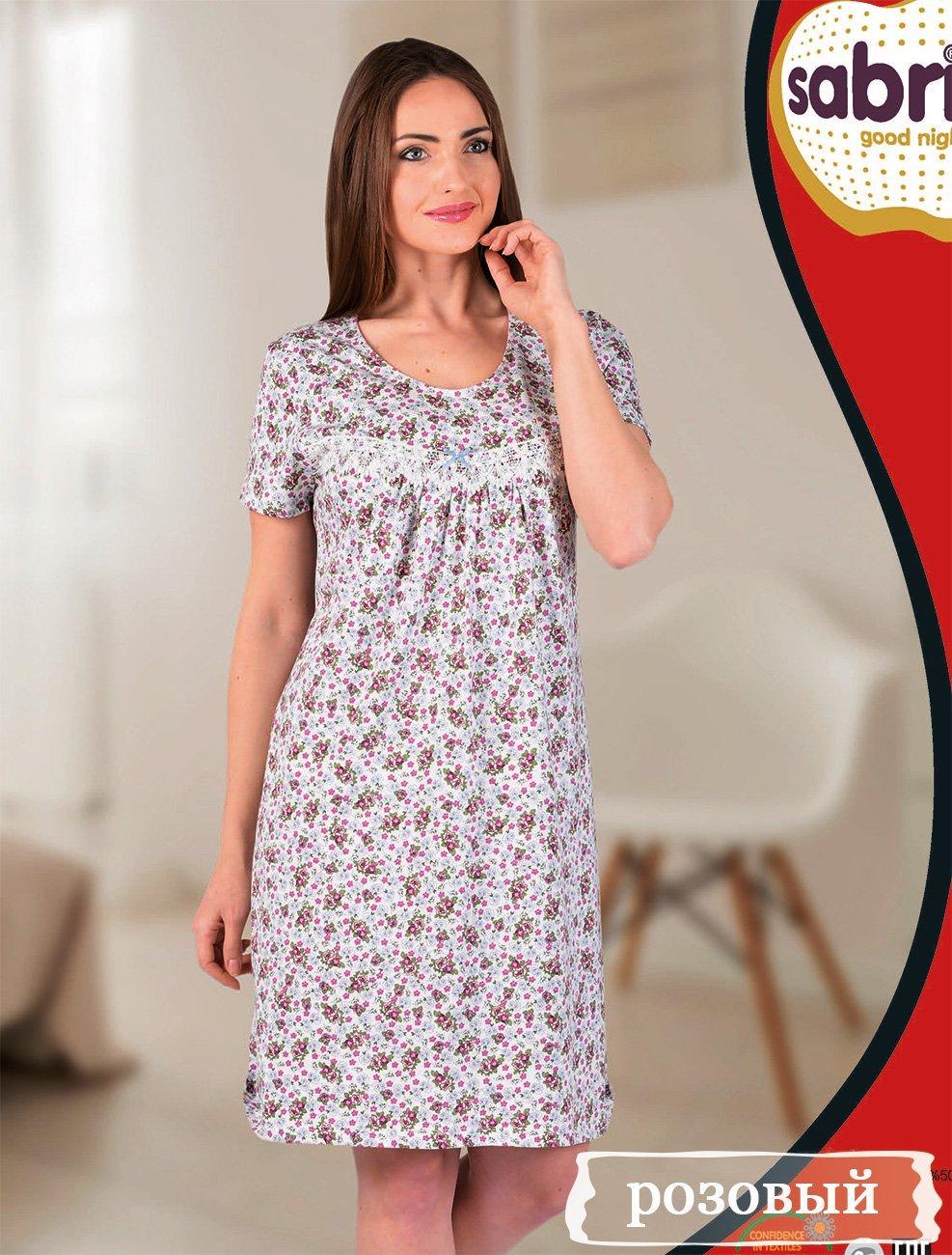 12614 Рубашка средней длины Sabrina
