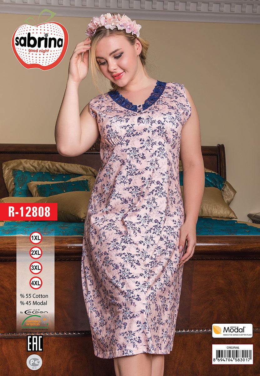 Женская рубашка R-12808 Sabrina