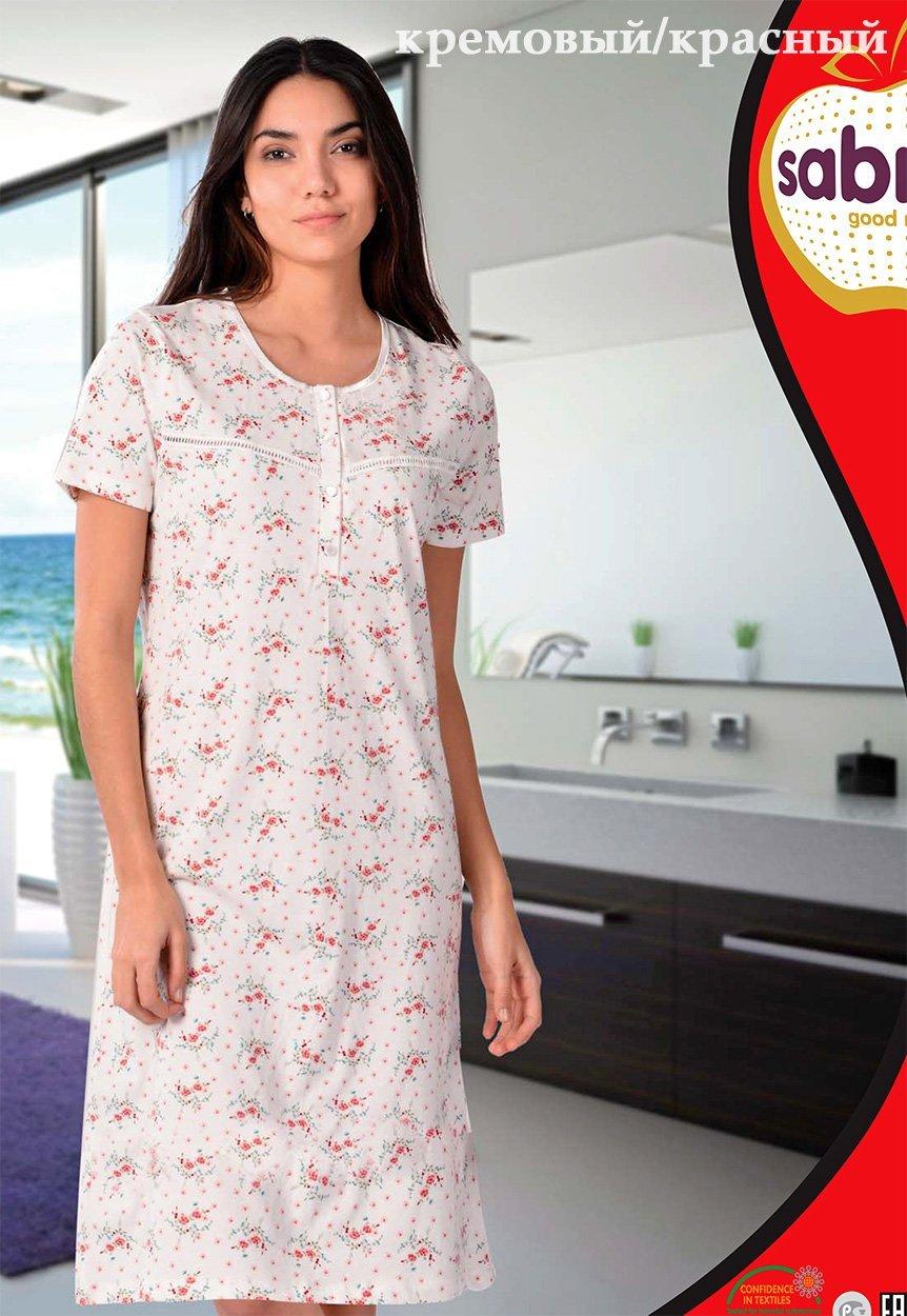 Рубашка ночная средней длины 22611 Sabrina