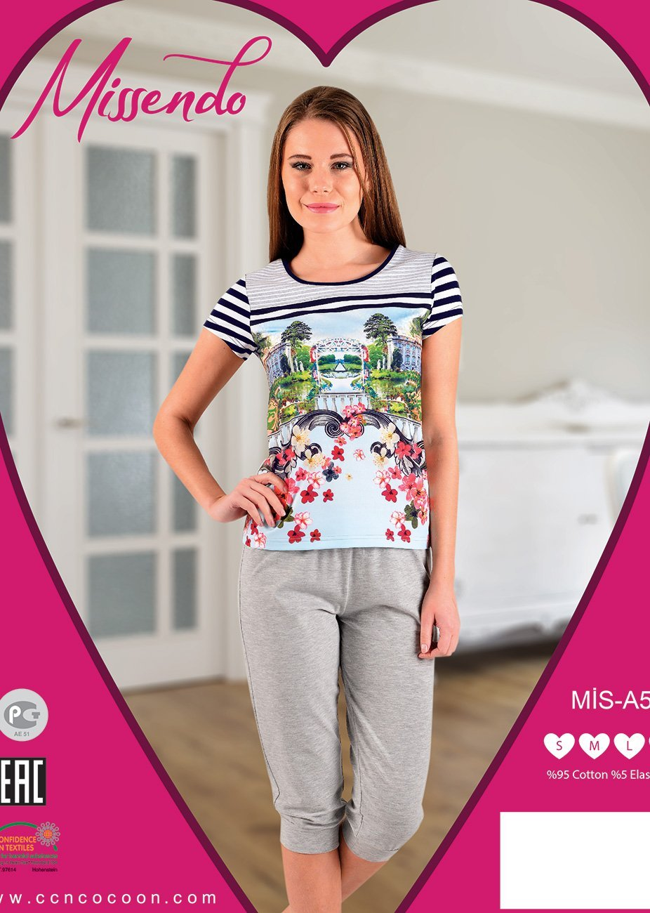 A-507 Город - комплект (футболка+бриджи) Missendo