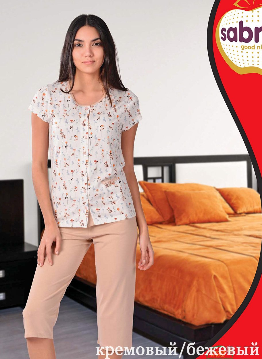 Комплект для отдыха (рубашка+бриджи) 52566 Sabrina