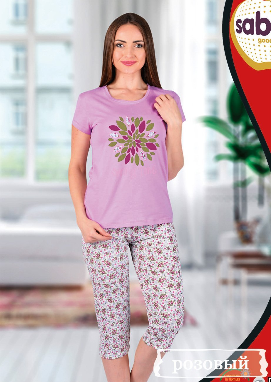 52613 Комплект (футболка+бриджи) Sabrina