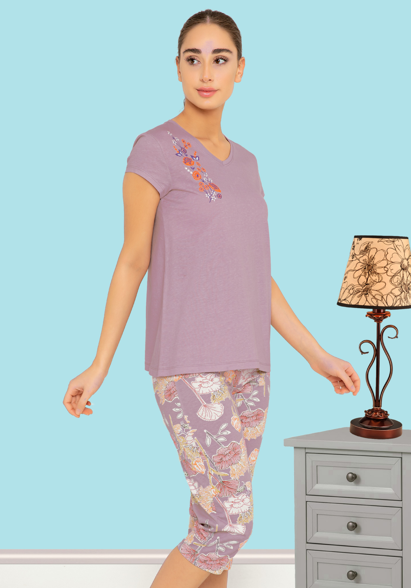 Комплект (футболка, бриджи) 52651 Sabrina