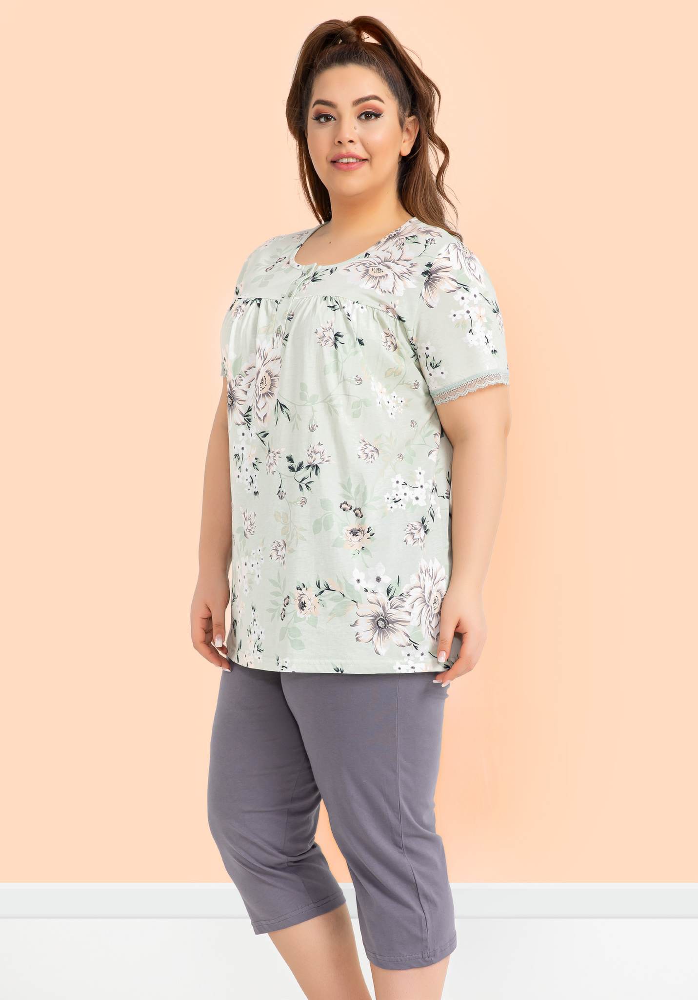 Комплект (футболка, бриджи) P-52642 Sabrina