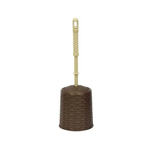 Набор ерш+подставка круглый 122001 Ротанг коричневый 12*12*40 см