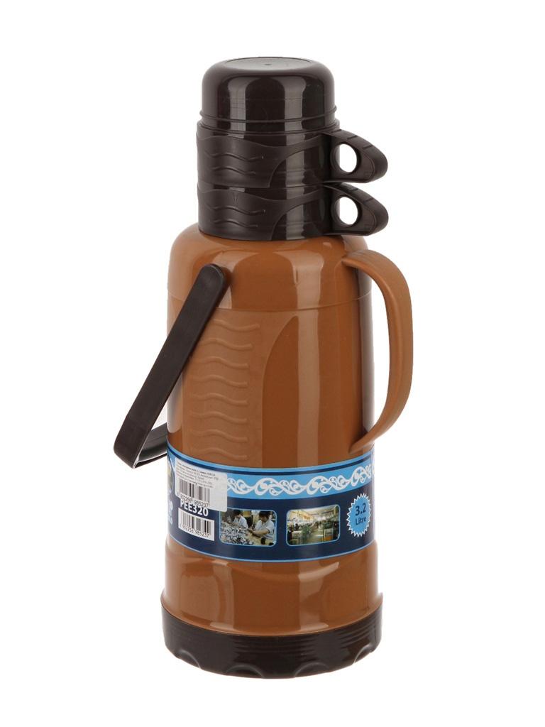 Термос PEE-320 с узким горлом 3,2 л с двумя чашками