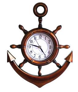Часы настенные MC-1904121 якорь 40*30 см