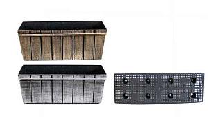 Ящик балконный MC-1903539 барокко 35*13*13 см