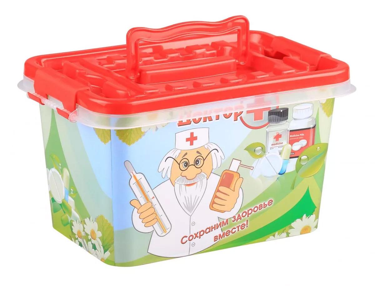 Контейнер для аптечки М3217 Доктор + 24*16*14 см