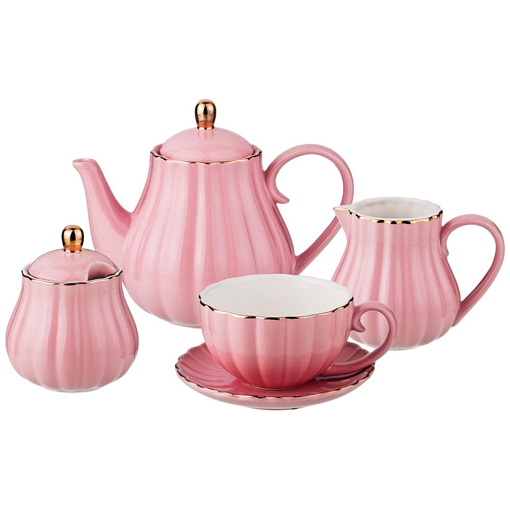 Уценка! Чайный сервиз, 153-871 15 предметов