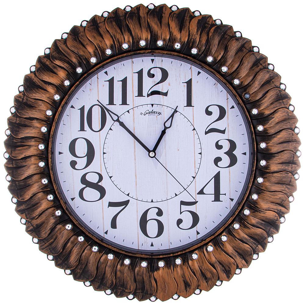 Часы настенные кварцевые 207-392 52 см