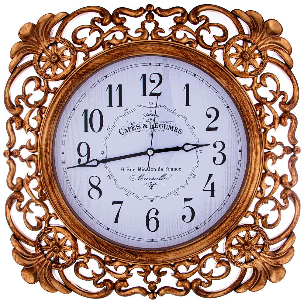 Часы настенные кварцевые 207-395 45*45 см