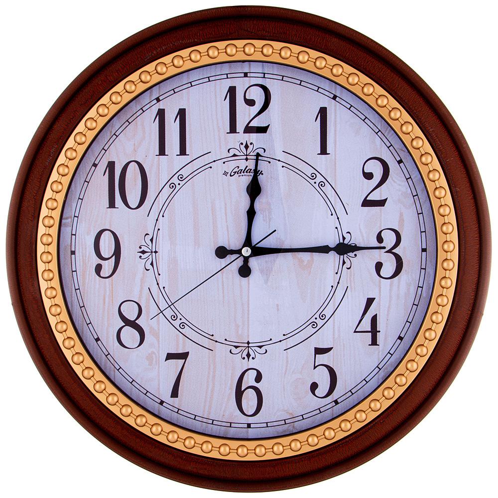 Часы настенные кварцевые 207-401 44,5 см