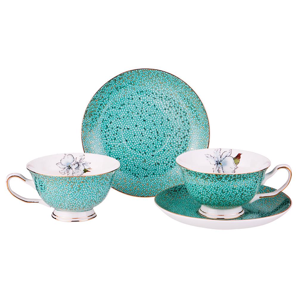 Чайный набор 275-698 на 2 персоны 4 пр. 200 мл
