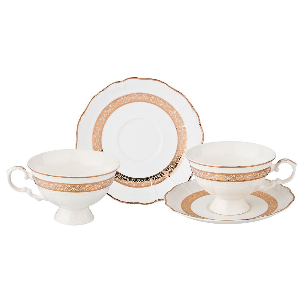 Чайный набор 275-936 на 2 персоны, 4 пр. , 230 мл