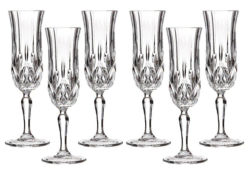 """Набор 305-069 бокалов для шампанского 6 шт """"Опера"""" 130 мл"""
