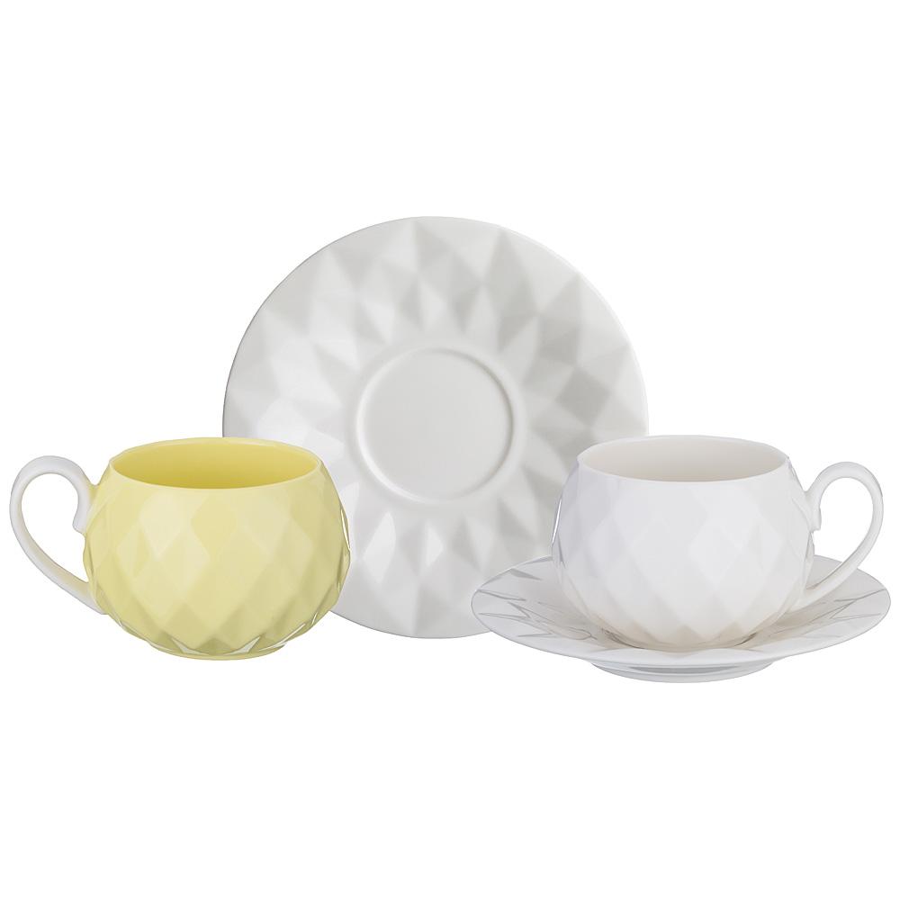 Чайный набор 374-035 на 2 персоны, 4 пр. , 200 мл