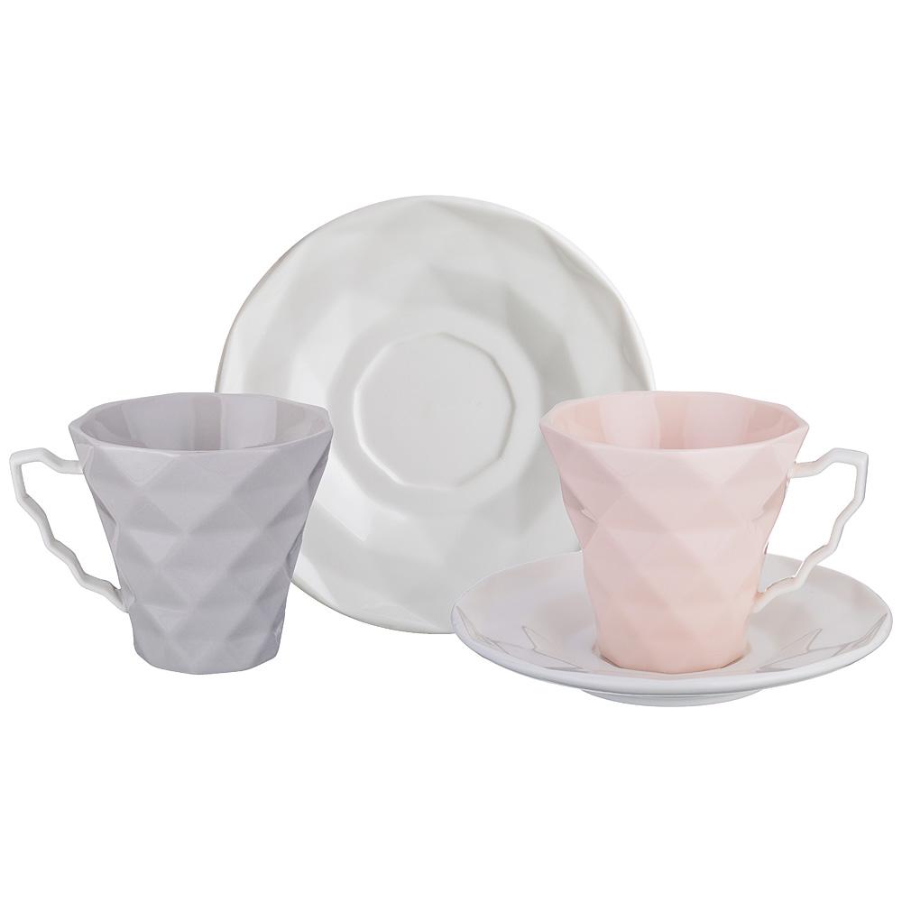 Чайный набор 374-040 на 2 персоны, 4 пр. , 200 мл