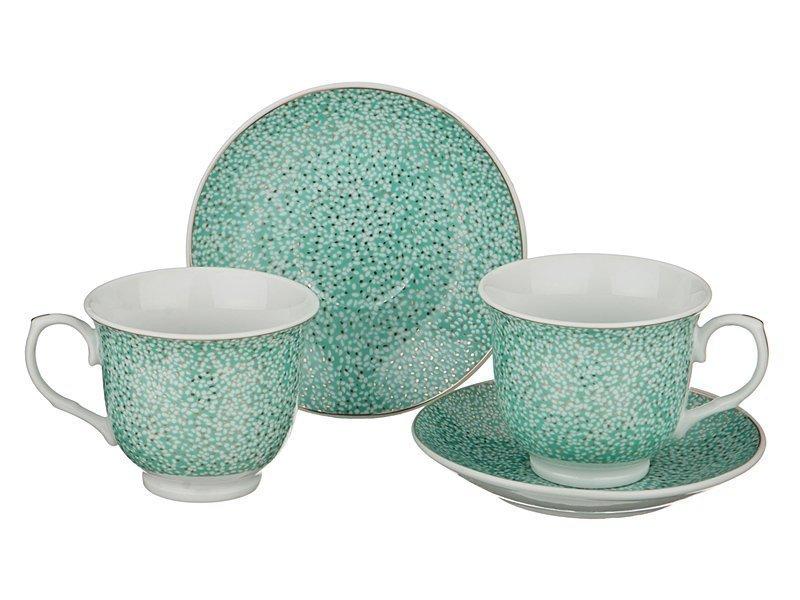 Чайный набор 389-315 на 2 персоны 4 пр. 200 мл