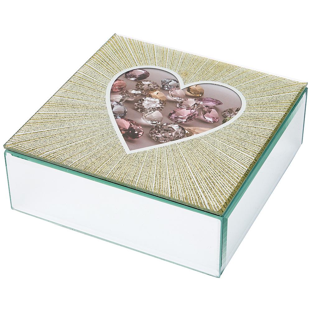 Шкатулка 453-112 коллекция heart 16*16*6 см