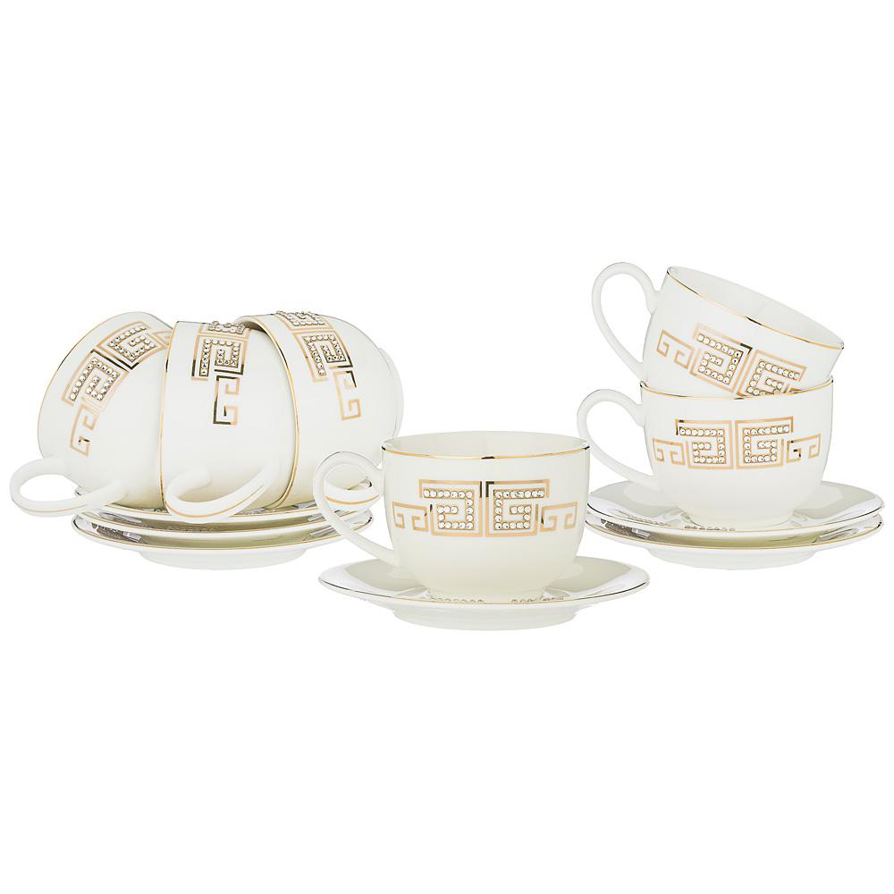 Чайный набор 754-107 на 6 персон, 12 предметов