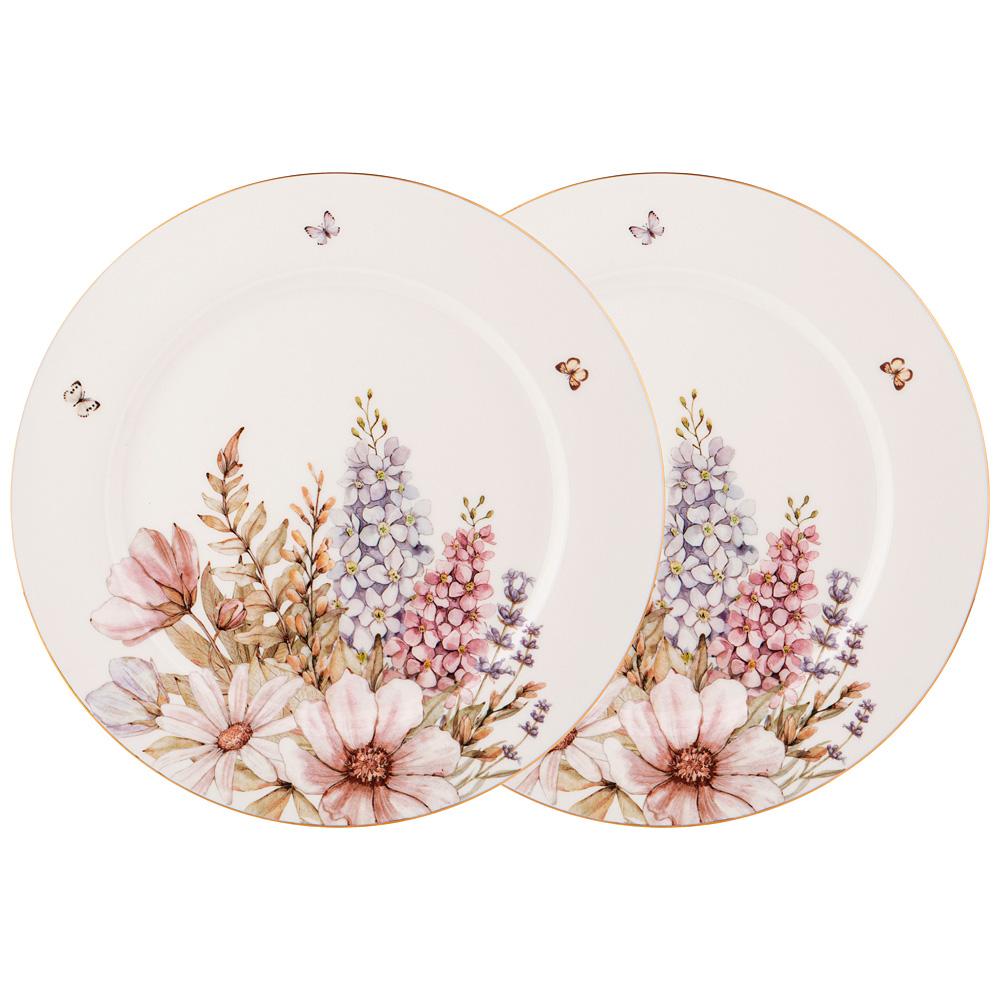 Набор тарелок обеденных 760-713 дворцовый парк 2 шт. 25,5 см