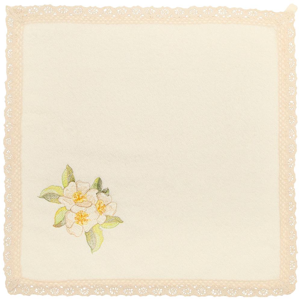Салфетка 850-600-65 махровая полевые цветы 40х40 см