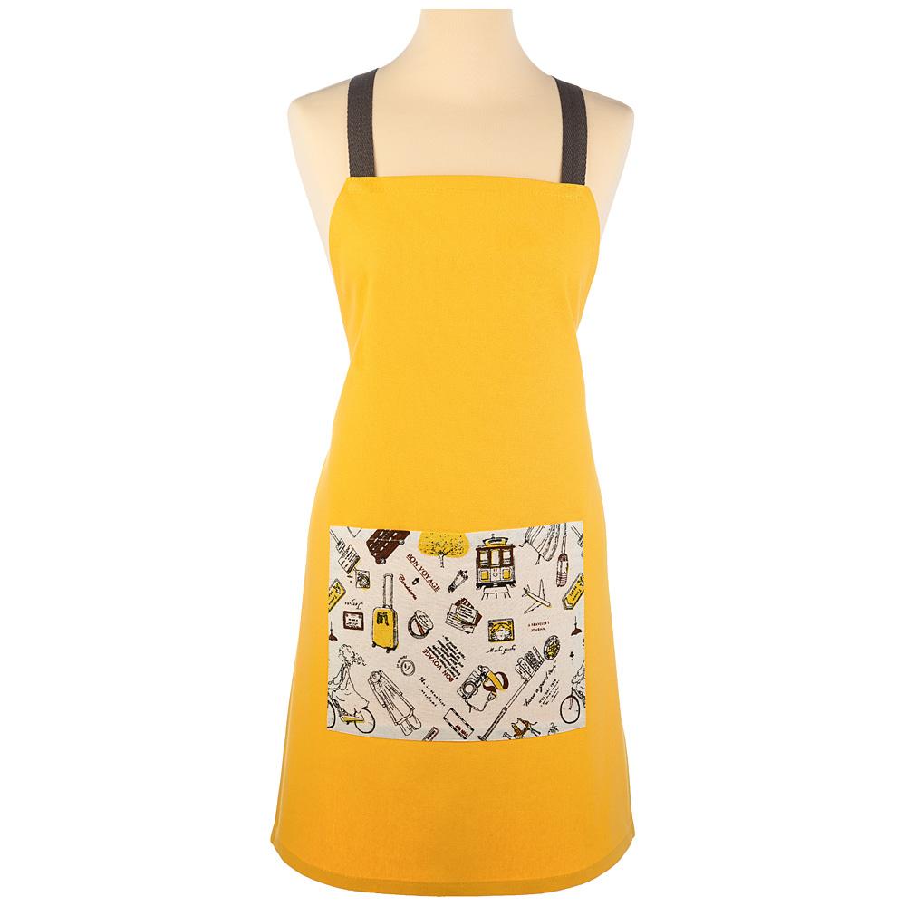 Фартук 850-605-28 вояж, жёлтый