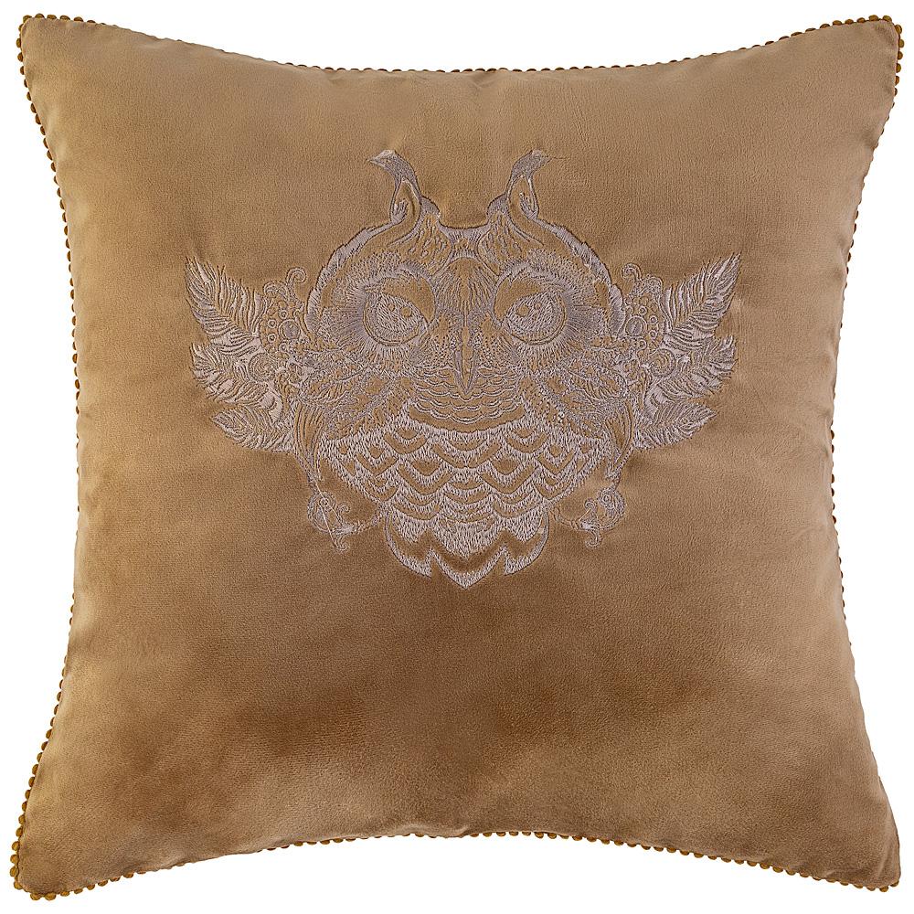 Подушка декоративная 850-827-52 тотем, песочный 45х45 см