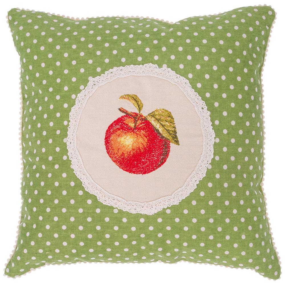 Подушка декоративная 850-831-63 фрутта-яблочко 40х40 см