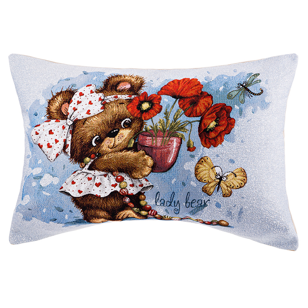 Подушка 850-901-88 для любимой бабушки 45*63 см гобелен