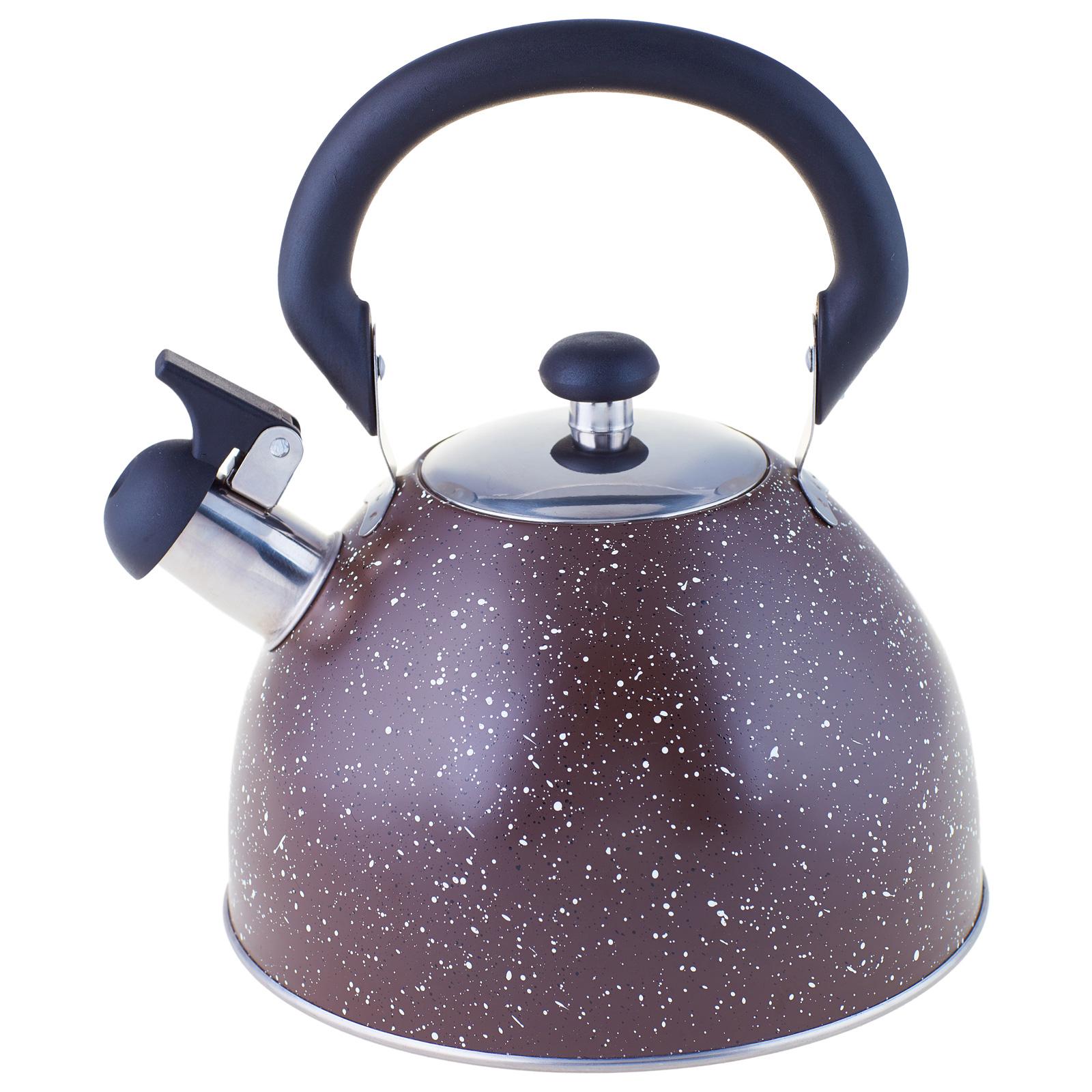 Чайник со свистком LKD-049BR 2,5 л коричневый Appetite