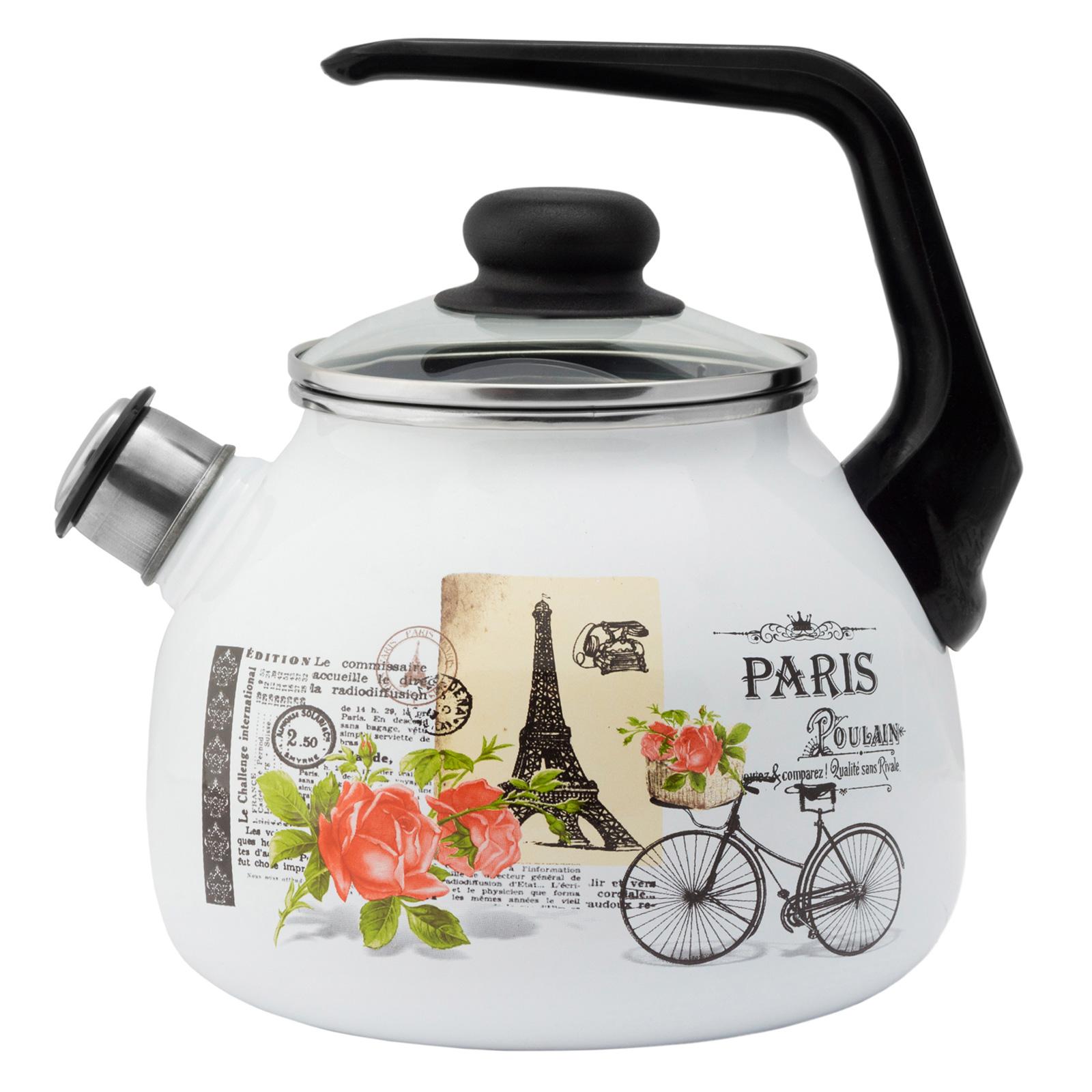 Чайник со свистком 4с209я Париж 3 л Appetite