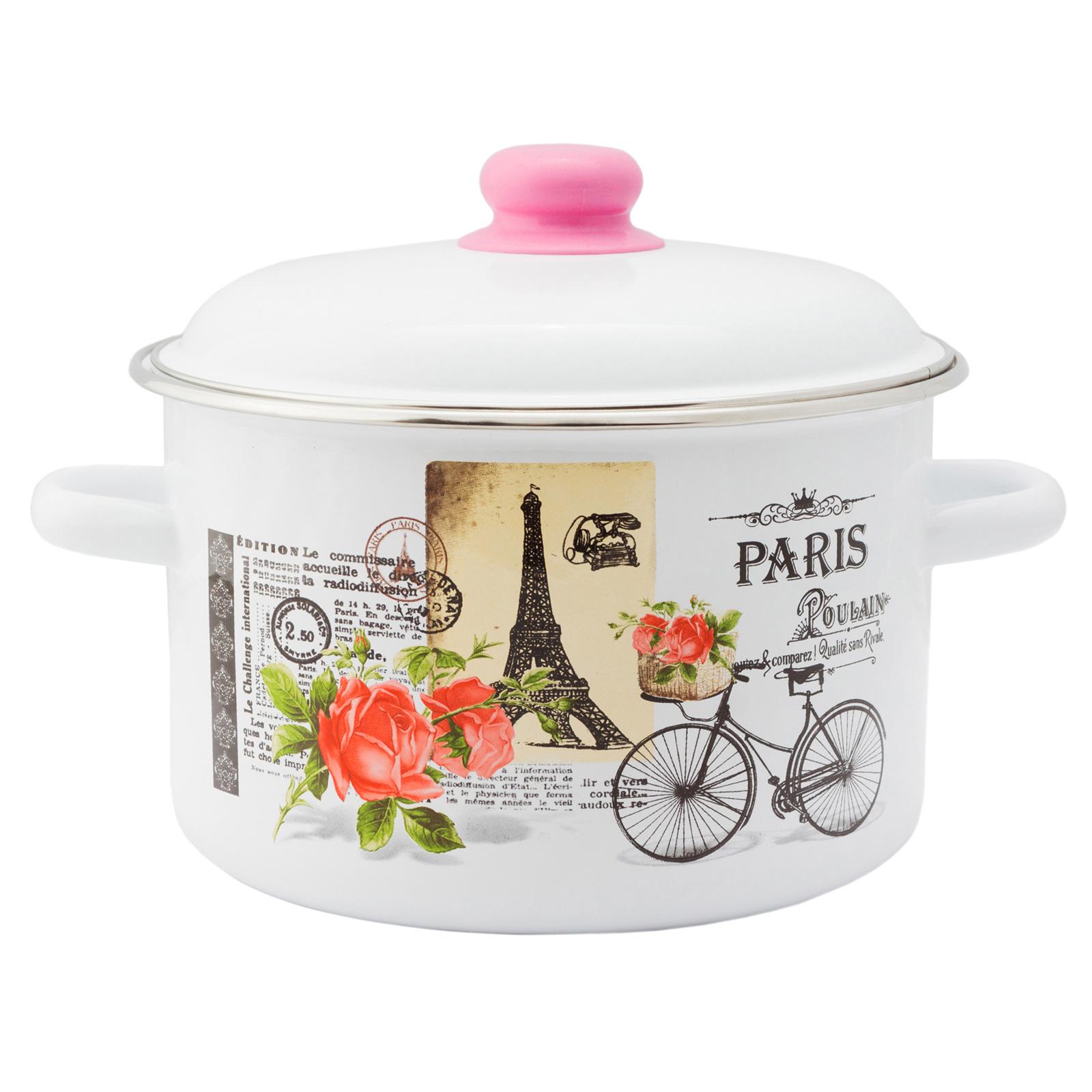 Кастрюля 4 л цилиндрическая Париж Appetite 1RD201М