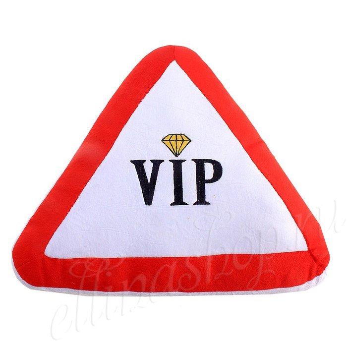 324043 Подушка авто-прикол VIP (1052)