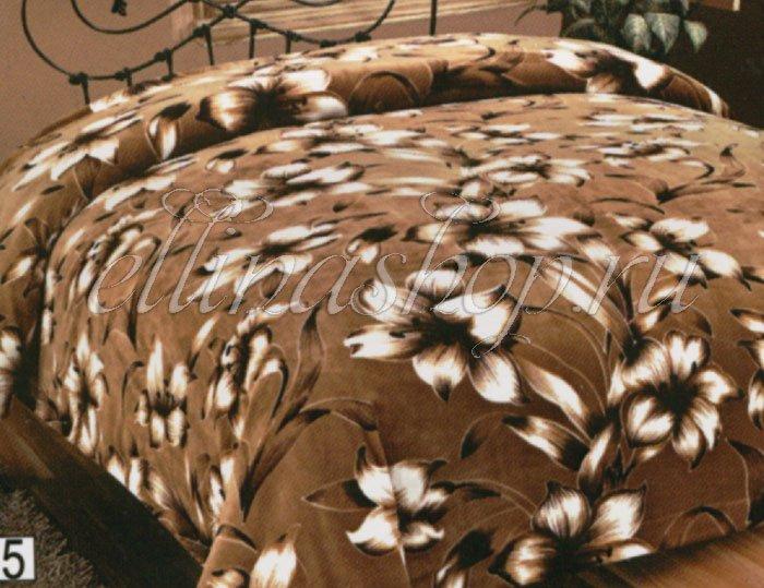 854 Лилия плед-простыня из микрофибры Karven