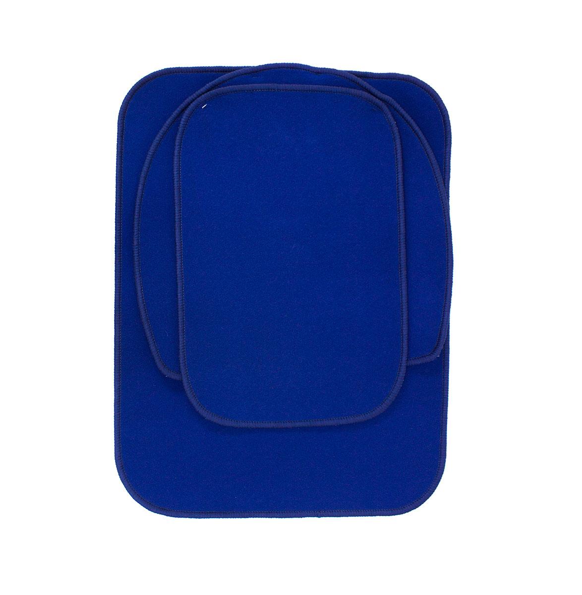 Комплект ковриков для ванны (60x80+56x56+40х60) 894 Комфорт