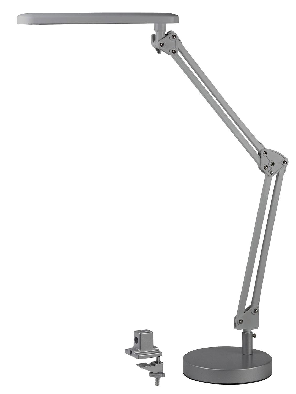 LED светильник, настольный NLED-440-7W-S серебро 16х60х65 см ЭРА