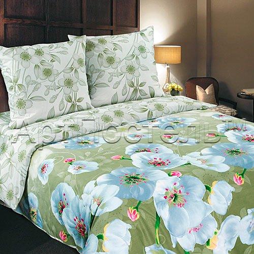 Перламутр постельное белье с простыней на резинке Артпостель