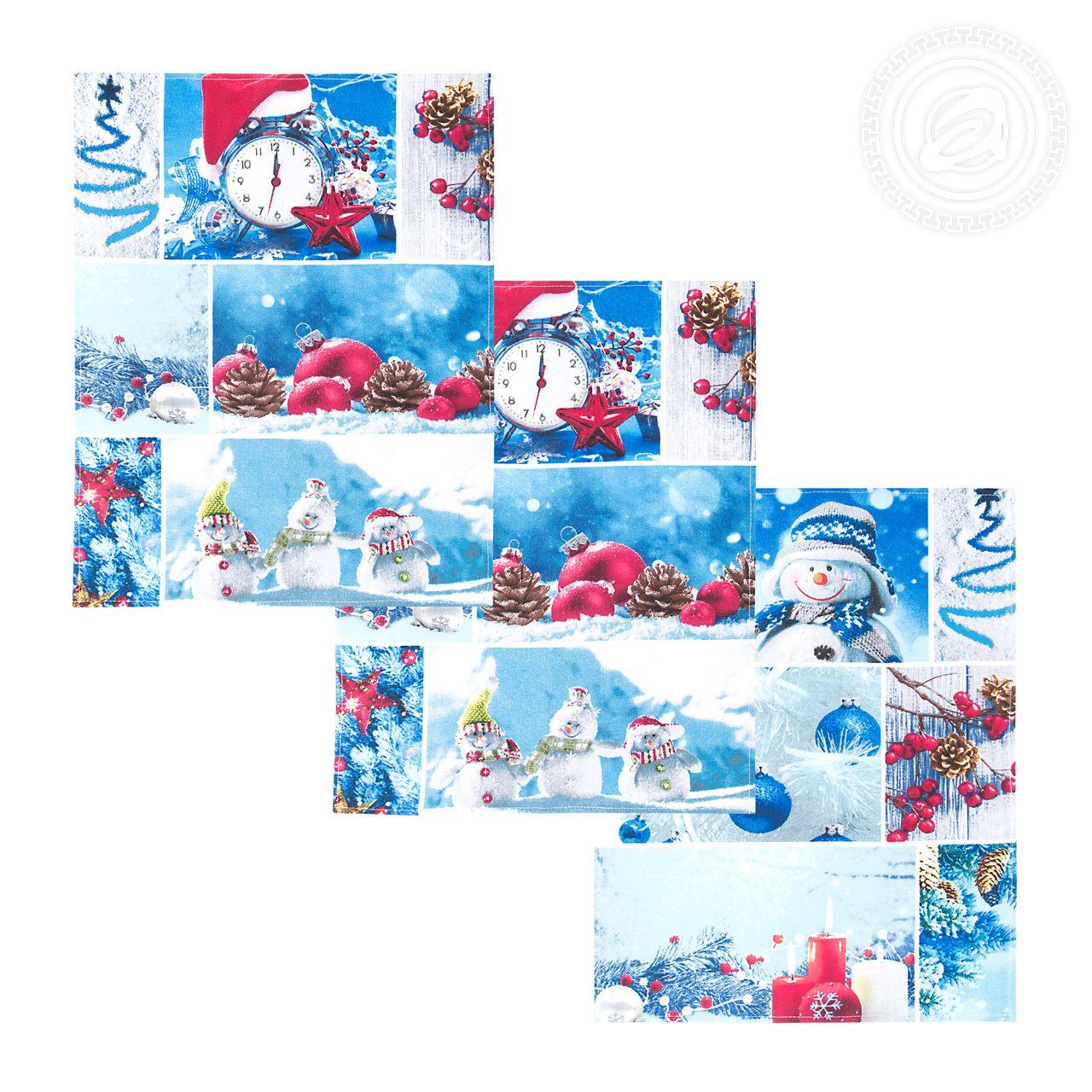 Комплект вафельных полотенец 45x60 (3 шт) Румянец Артпостель