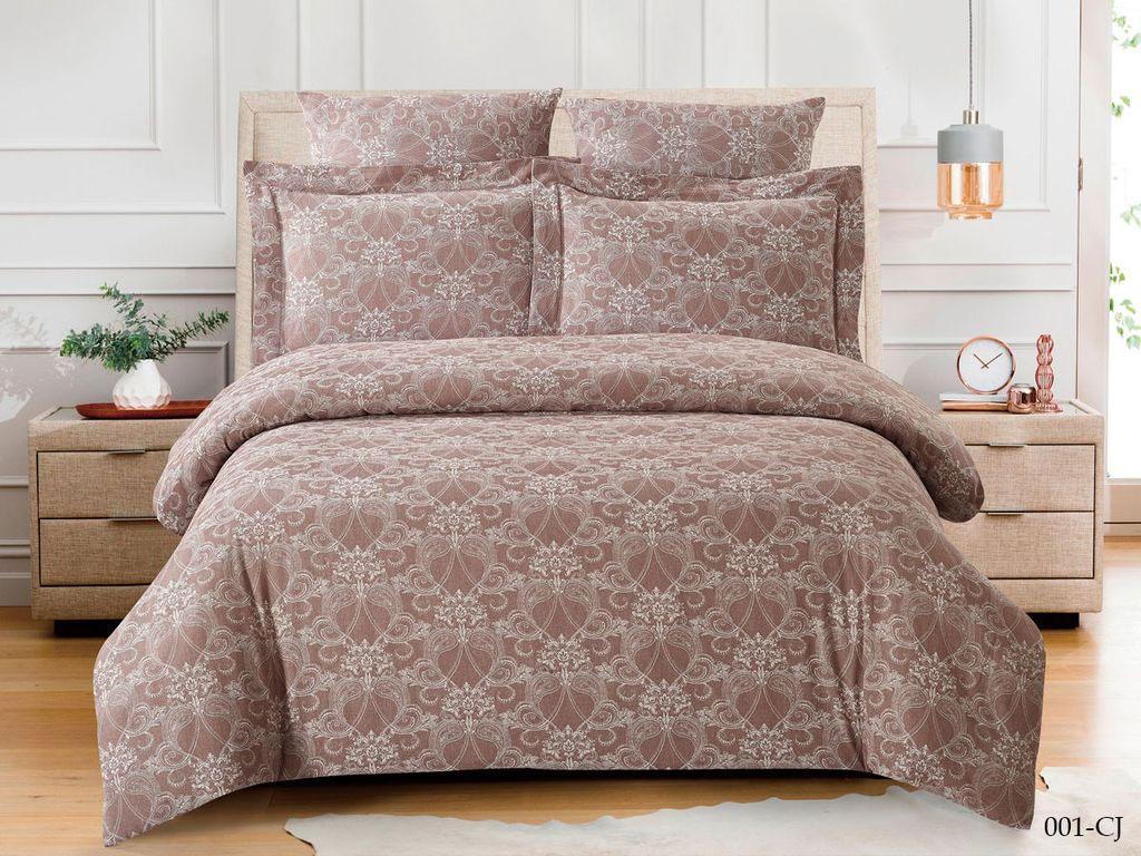 Жаккардовое постельное белье из сатина 001-CJ Cleo